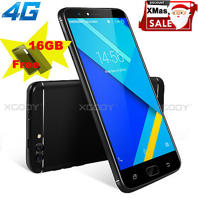 XGODY 16GB 5+13MP Android Unlocked Dual SIM Mobile Smart Phone Quad Core Phablet