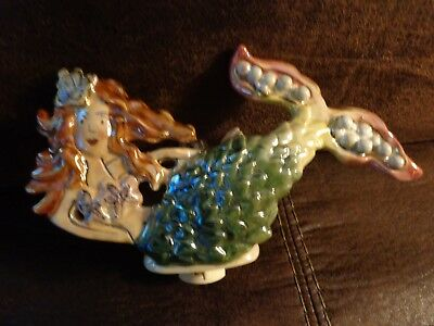 Blue Sky Clayworks Mermaid Night Light 2004 Super CUTE