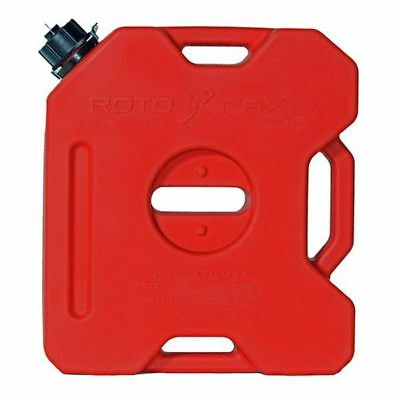 Kriega Rotopax Motorcycle Motorbike Red Fuel Canister 1.75 US Gallon