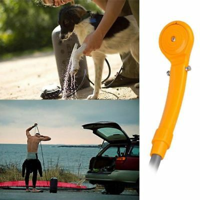 12v ELECTRIC PORTABLE CAMPING SHOWER with STORAGE BAG boat caravan car hiking
