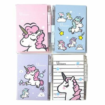 Cute Unicorn Memo Pad Notepad Practical Notes Stationery Beautiful Supplies