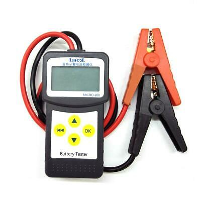 12V Car Battery Tester Auto Vehicle Battery Analyzer AGM CCA GEL MICRO-200 Kit