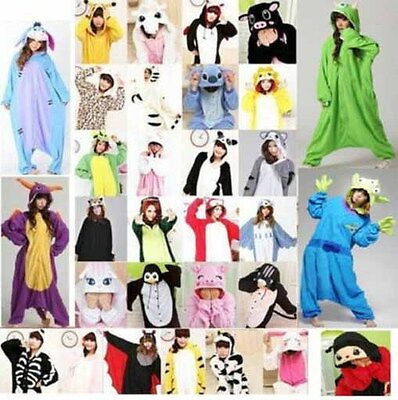New Kigurumi Unisex Adult Pajamas Anime Onesis Cosplay Costume Onesies Sleepwear