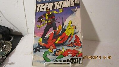 DC Comics, Teen Titans no 24, Ski's of Death, 1969