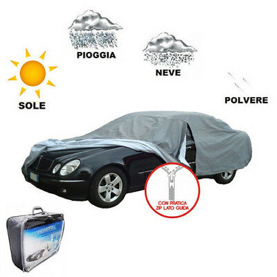 Tg L Cloth Cover Car Car Cover Fleece Mercedes Benz C (W204) 07 > 08 Waterproof
