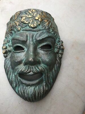 Brass or bronze mask
