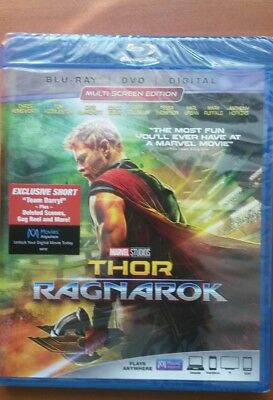 THOR   -  Ragnarok   NS  BR + DVD + Digital, Marvel Studios