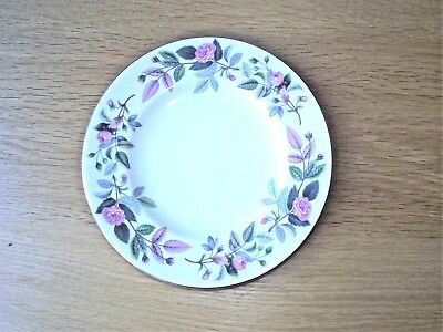 Pottery & Glass Qualified Wedgwood Lichfield Set Of Six Side Plates.