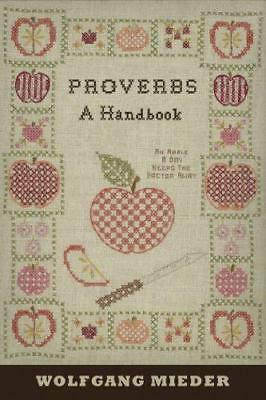 Proverbs by Wolfgang Mieder New Paperback / softback Book