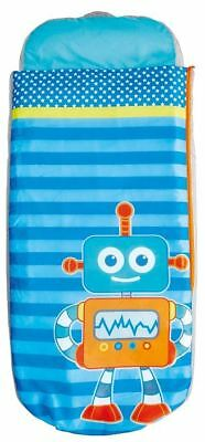 Worlds Apart Robots Junior ReadyBed, Kids Inflatable Sleeping Bag PUMP INCLUDED