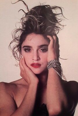 Madonna Young Pop Singer Icon Dancer Actress A4 Picture Print A4 Wall Art