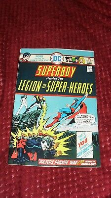 Superboy & Legion of Superheroes 1970s lot- 6 classic issues- Mike Grell art