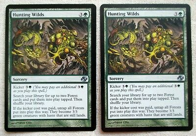 x2 Magic The Gathering MTG Hunting Wilds Planar Chaos NM