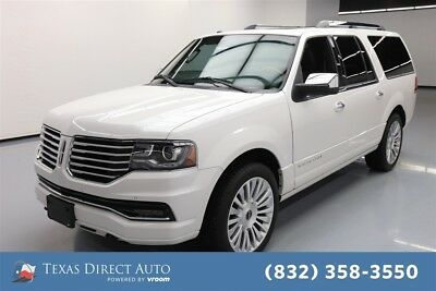 2015 Lincoln Navigator  Texas Direct Auto 2015 Used Turbo 3.5L V6 24V Automatic RWD SUV Moonroof Premium