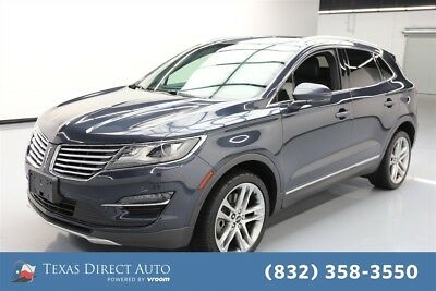2015 Lincoln MKC  Texas Direct Auto 2015 Used Turbo 2.3L I4 16V Automatic AWD SUV Premium