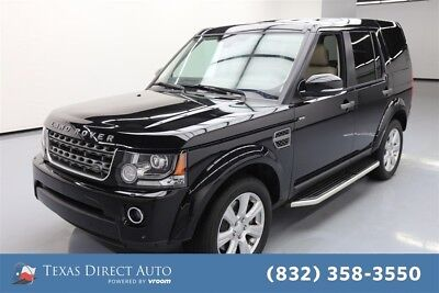2016 Land Rover LR4 HSE Texas Direct Auto 2016 HSE Used 3L V6 24V Automatic 4WD SUV Moonroof Premium