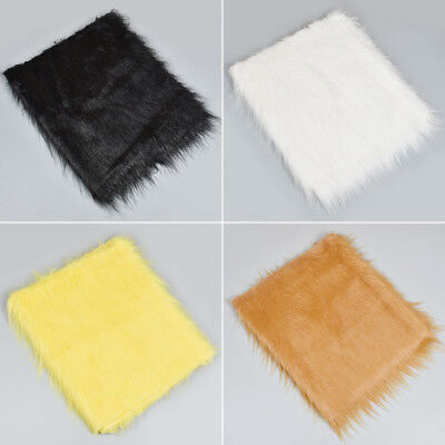 1/2 Meter Luxury Long Haired Fur Fabric Sewing Craft Handbag Plush Toy Material