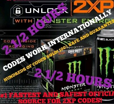 2Xp Code Sent In Message Within 10 Min - 24/7 - 2.5 Hours Call Of Duty Double Xp