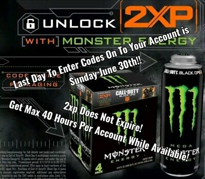2Xp Code Delivered In Message In 15 Min - 24/7 - 1 Hour - Call Of Duty Double Xp