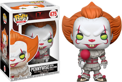 Funko POP ! Movie IT Pennywise with balloon 475 - occhi gialli - Limited edition