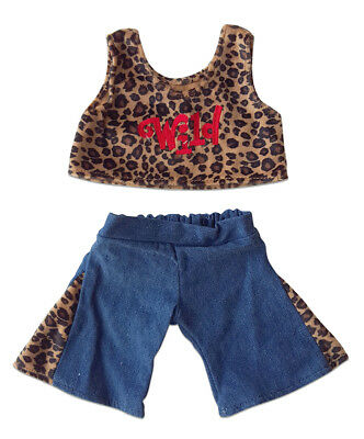"Wild Outfit Fits Most 14"" - 18"" Build-a-bear, Vermont Teddy Bears, and Make Your"