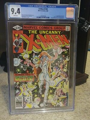 X-MEN #130 CGC 9.4 1st Dazzler (Alison Blaire)! White Pages! Marvel Comics 1980