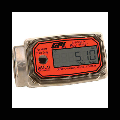 GPI Digital Turbine Fuel Meter - Model # 01A31GM