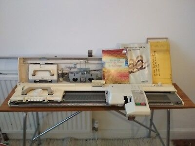 Brother KR836 knitting machine & Garter Carriage Bundle