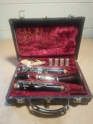 Vintage Musical Instrument ~ Clarinet ~ Attic Find