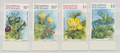 Grenadines of St. Vincent MiNr. 240 - 243 Prickly Pear 1992 MNH / **