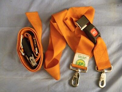 2 Donway Straps With Metal Buckle Swivel Speed Clip Restraint Stretcher