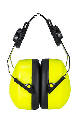 Portwest Clip-On Ear Protector Defenders Work Wear Noise Sound ANSI S3.19 PS47