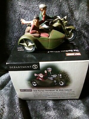 Dept 56 Christmas in the City Harley-Davidson Motors Accessory  ships free