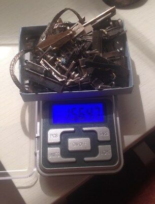 Scrap Job Lot Solid Marked Silver Weighing 156 Grams.