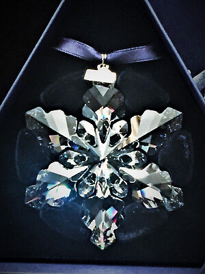 Swarovski Crystal 2008 Annual Edition Snowflake Christmas Ornament, Brand New