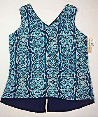 f0518f77831 Como Vintage Women s Sleeveless Shirt Blouse Dressy Tank Top Plus Size 1X  2X 3X