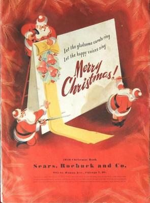 1946 Sears Wish Book / Christmas Catalog On DVD Disc See Pictures Toys & More