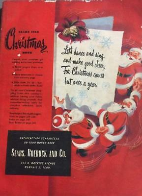 1948 Sears Wish Book / Christmas Catalog On DVD Disc See Pictures Toys & More