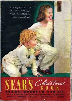 1937 Sears Wish Book / Christmas Catalog On DVD Disc See Pictures Toys & More