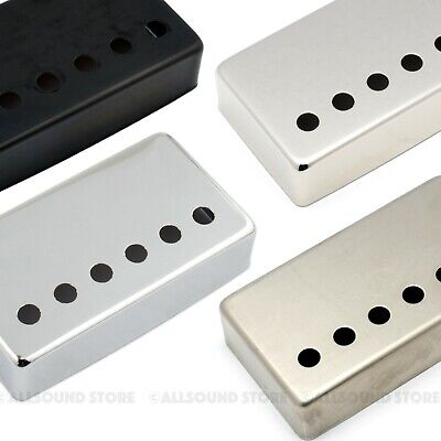 NICKEL SILVER Humbucker Guitar Pickup Cover 50mm 52mm 53mm  RAW, NICKEL, CHROME