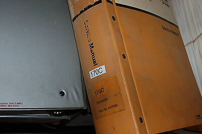 CUSTODIA 170c Crawler Excavator Repair Shop Service Manual book overhaul owner