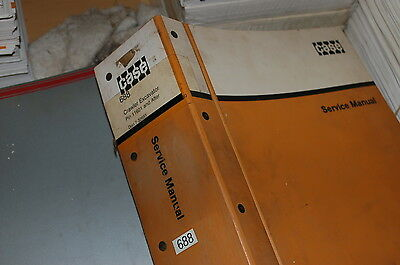 CUSTODIA 688 Crawler Excavator Repair Shop Service Manual book overhaul owner