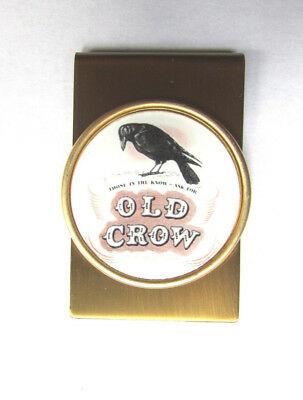 Old Crow Money Clip, Old Crow Whiskey Logo Money Clip , old crow Money Clip