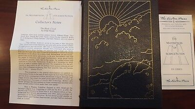EASTON PRESS THE BLACK CLOUD Fred Hoyle Masterpieces of Science Fiction 1986