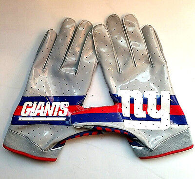rare  Under Armour Ua Nfl Nitro Warp Ny New York Giants Football Gloves 3Xl 4896855df