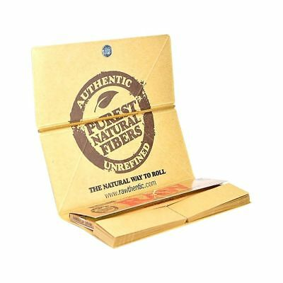 RAW Classic Artesano King Size Slim Rolling Paper - 1 PACK - Tips Tray Natural