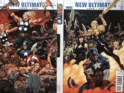 Ultimate New Ultimates #1 And #2 (May 2010, Marvel)