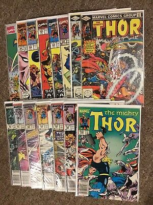 15 Issues  Marvel Comics, The Mighty Thor