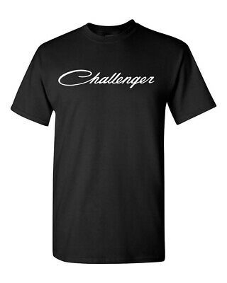 Dodge CHALLENGER T-Shirt Racing SRT Hellcat Adult Size S-2XL Gifts For Him