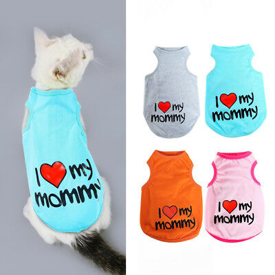 Cute Cat Clothes for Cats Stretchable Costume Coat for Dogs Cats Small Medium
